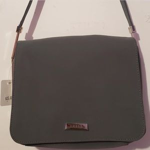 GUESS Muted-Grey Strap Crossbody